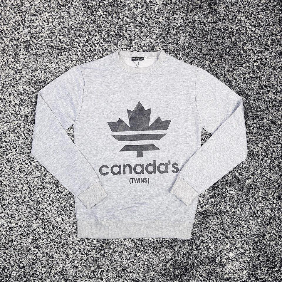 ÁO CANADA XÁM THỂ THAO CHẤT ĐẸP
