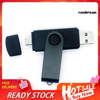 4/8/16/32/64/128GB Dual Port U Disk Laptop OTG Phone Micro USB 3.0 Flash Drive /RXDN/