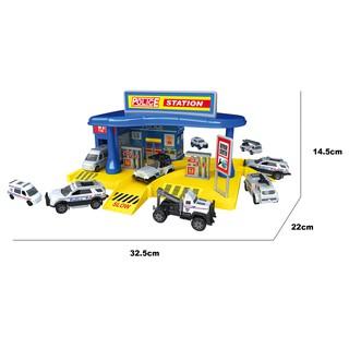 Đồ chơi xây dựng Trạm cảnh sát khu vực Six-six-zero-A101