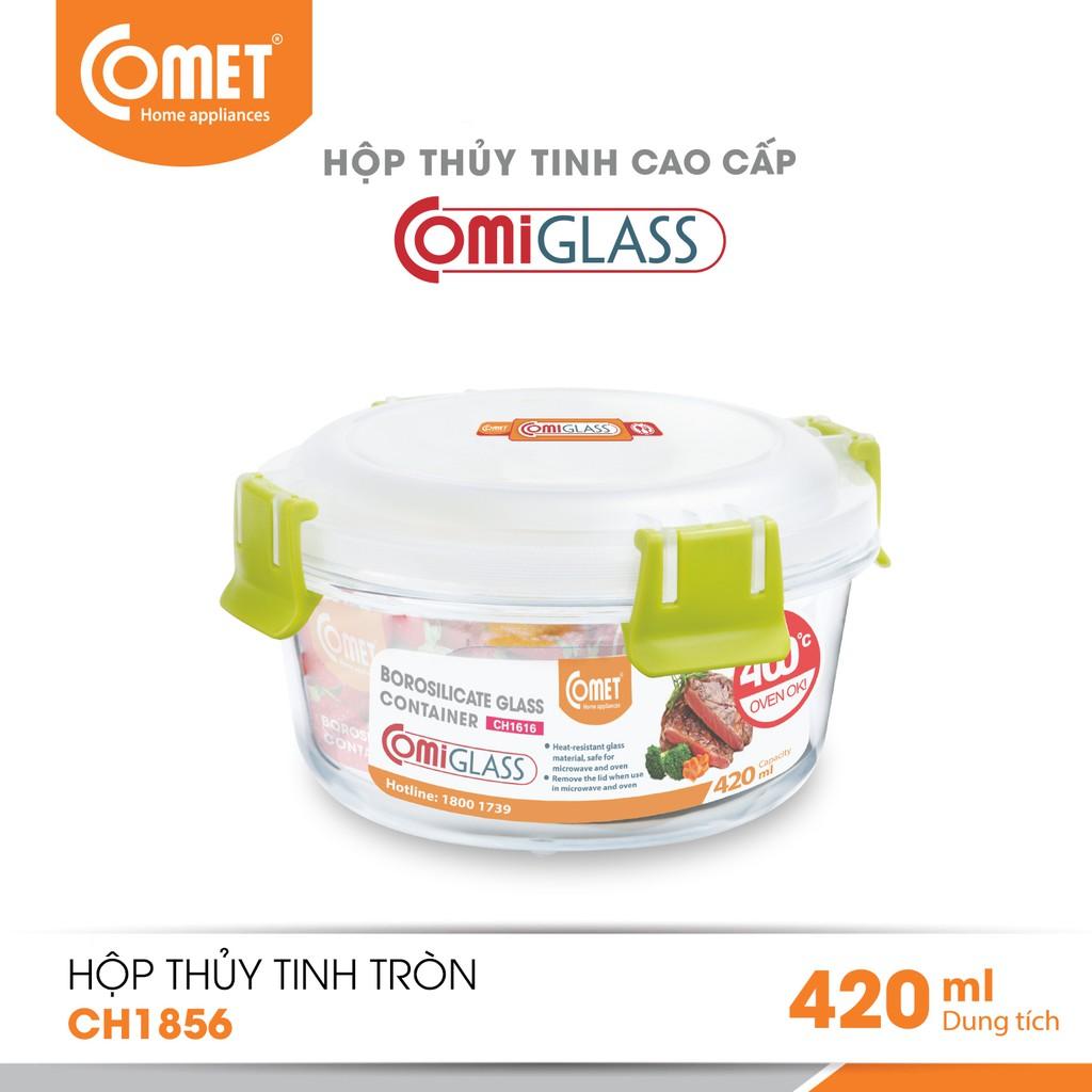 Combo 3 hộp thực phẩm thuỷ tinh Comet - CH18-565859