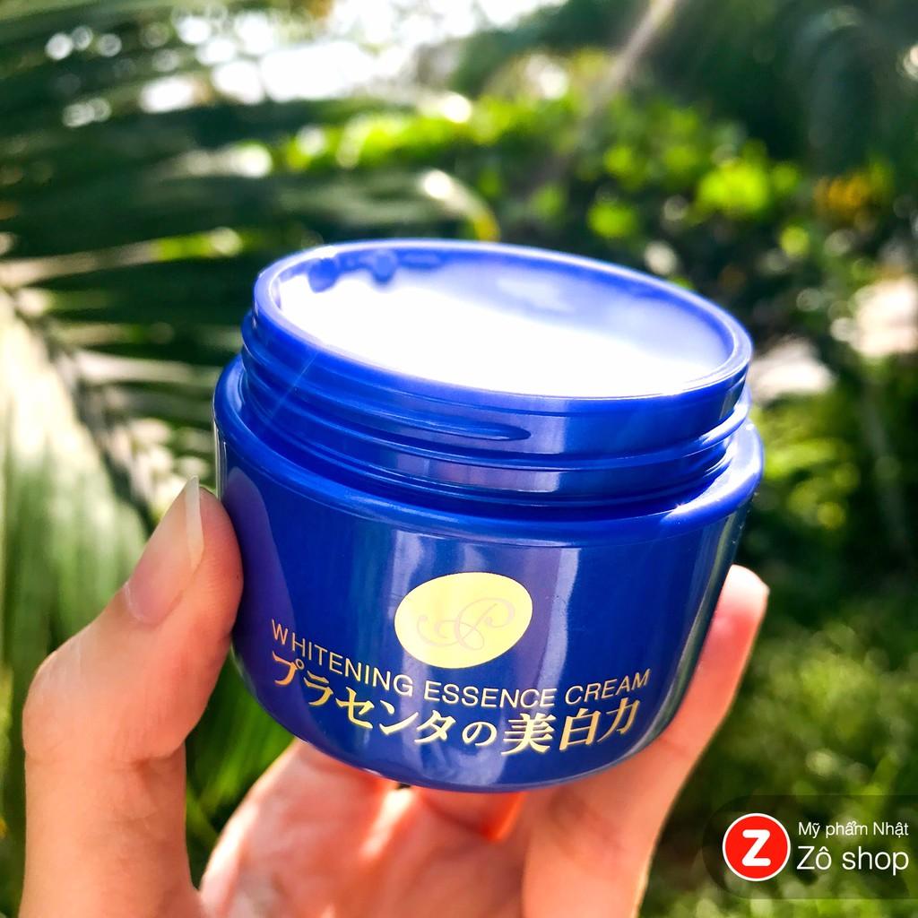 Kem dưỡng trắng, chống lão hoá Meishoku Placenta Whitening Essence Cream (55g)