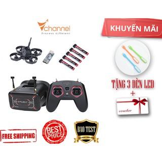 Combo FPV đầy đủ iFlight Alpha A65 Tiny Whoop Drone + Tay điều khiển + Kính + 5 pin [Tặng 3 đèn LED, Freeship COD, bao t