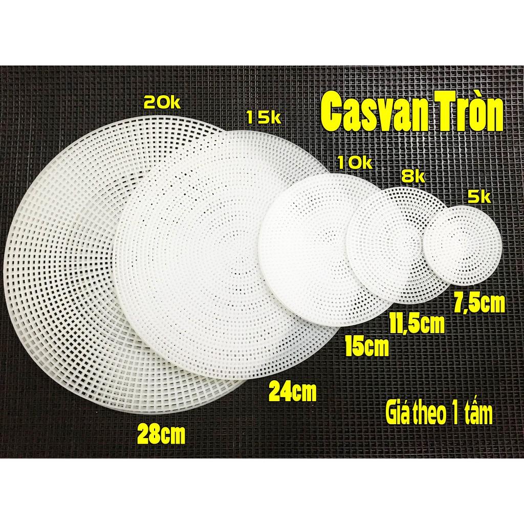 Tấm Cavan Tròn - phụ kiện túi xách