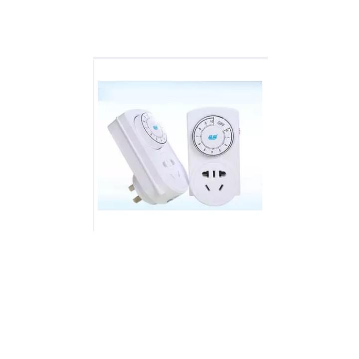 Ổ cắm hẹn giờ thông minh, an toàn và siêu tiết kiệm điện (Trắng) - Hẹn giờ cơ PY-10 220V-10A 2200W 1000000828