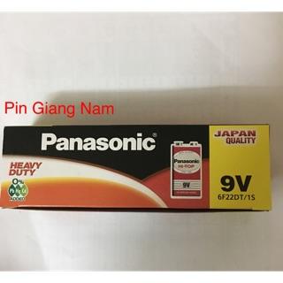 Pin 9V vuông Panasonic 6F22DT/1S hộp 12 viên