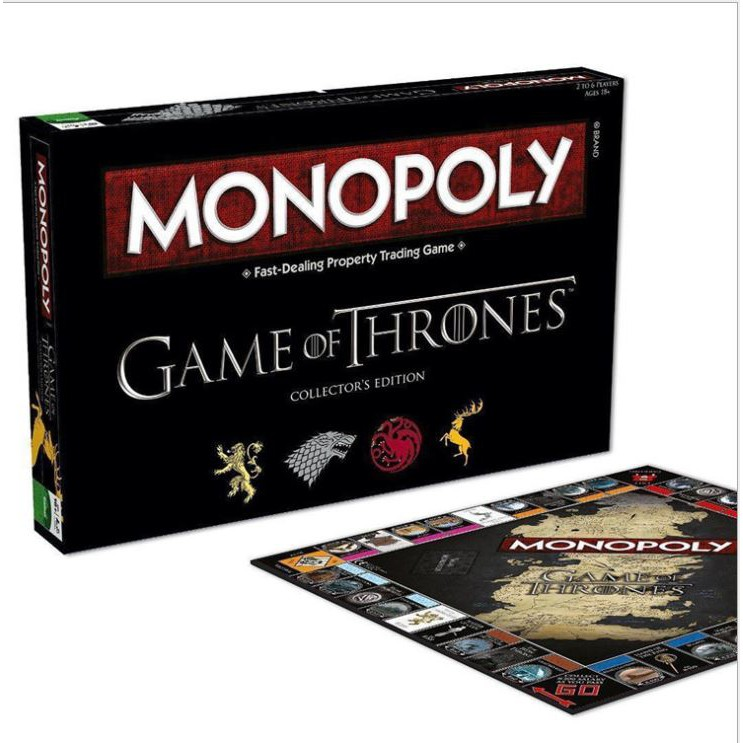 Đồ Chơi bài cờ tỷ phú Monopoly Game of Thrones