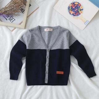 Áo Khoác Cardigan Vải Cotton Thời Trang Xuân Thu Cho Bé20210627