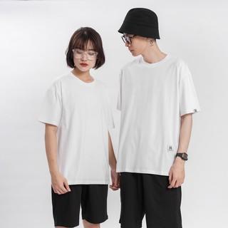 Hình ảnh [Mã FAMAYMA giảm 10K đơn 50K] Áo thun Unisex N7 Basic Tee phông trơn nam nữ tay lỡ oversize form rộng 12 màu-3