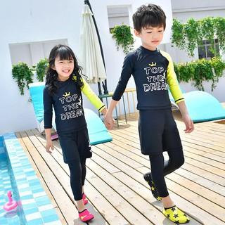 Set Đồ Bơi Ba Mảnh Cổ Tròn Chống Nắng Thời Trang Chất Lượng Cao