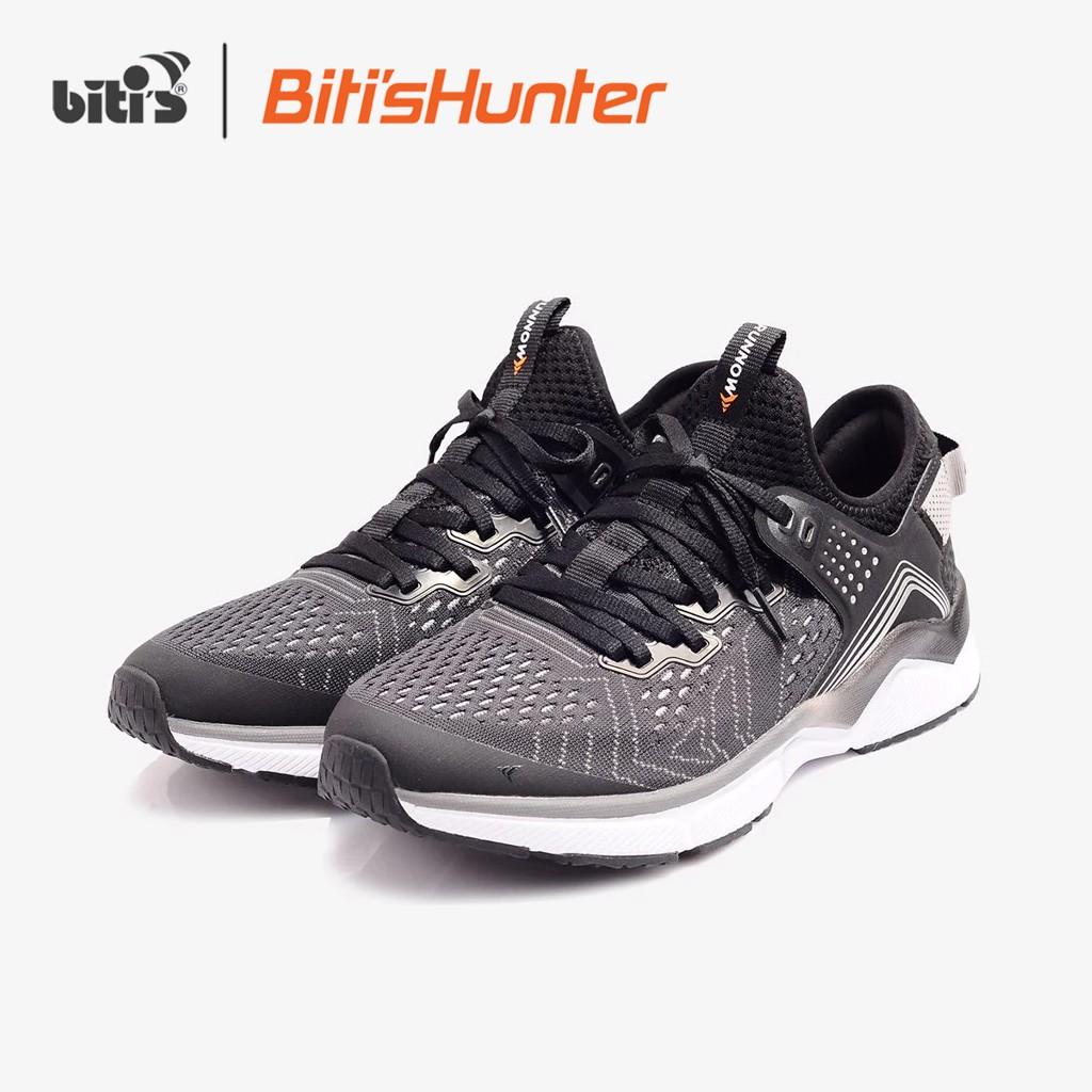 [Mã WABRBIM2 giảm 10% đơn 500k] Giày Chạy Bộ Biti's Hunter Running Grey DSWH03900XAM/DSMH03900XAM