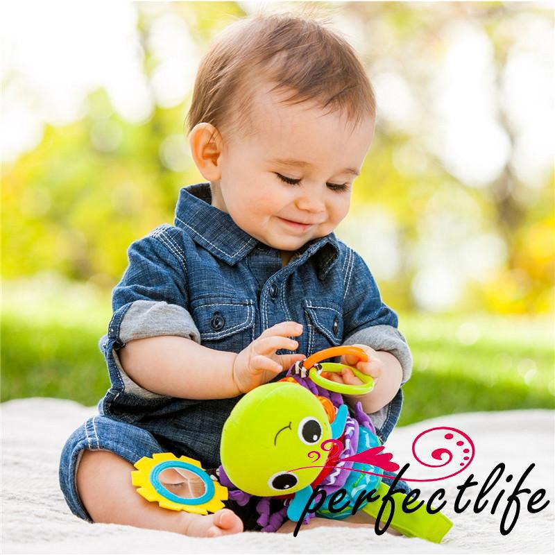 ★HZL-Hot Animal Musical Developmental Toy Bed Stroller Baby Gift Soft Toys