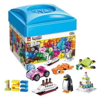 Xếp hình lego 460 chi tiết sáng tạo ENLI, nhựa ABS đẹp