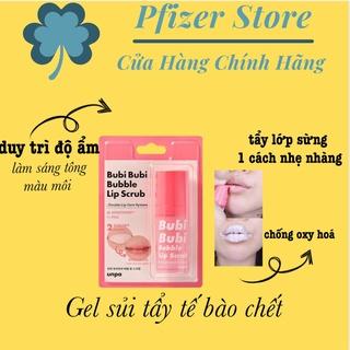 Tẩy Tế Bào Chết Môi Dạng Bọt Unpa Bubi Bubi Bubble Lip 10ml thumbnail