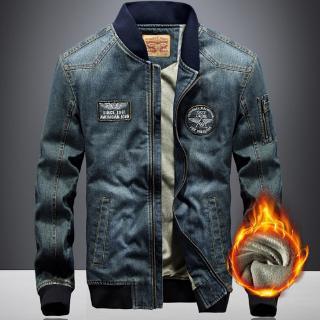 Áo Khoác Jeans Thời Trang Cá Tính Cho Nam