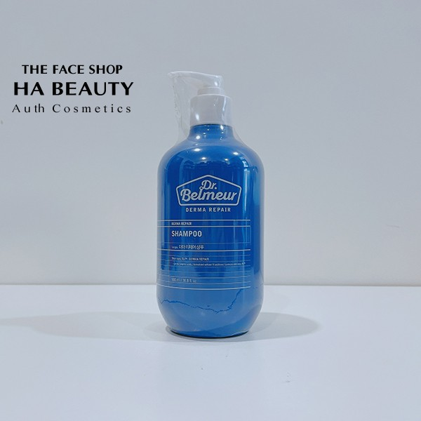 [The Face Shop AUTH] Dầu gội Phục hồi Ngăn ngừa Tóc Gãy Rụng Dr Belmeur Derma Repair Shampoo 500ml tfsn20