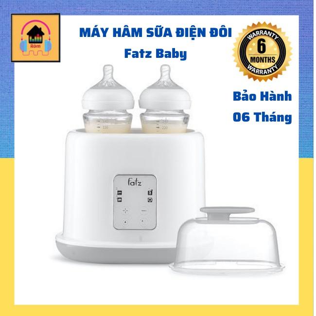 Máy Hâm Sữa Tiệt Trùng 2 Bình Điện Tử Fatz Baby Cho Bé