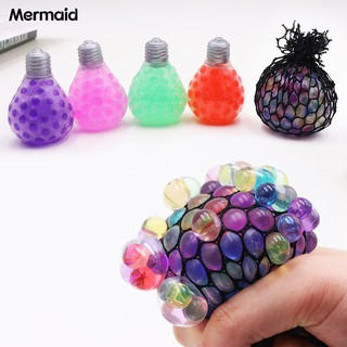 Mermaid Rubber Bulb Grape Decompression Squeeze Tricky Funny
