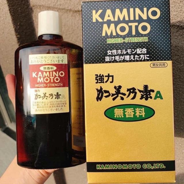 Dầu dưỡng kích thích mọc tóc Kaminomoto   Shopee Việt Nam