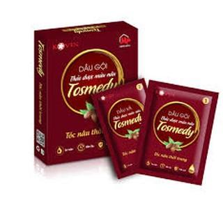 Dầu gội thảo dược đen/ nâu tóc Tosmedy - An toàn hiệu quả