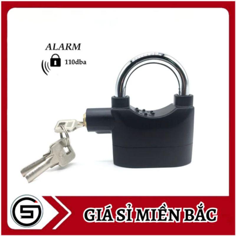 Ổ khóa có còi báo động chống trộm