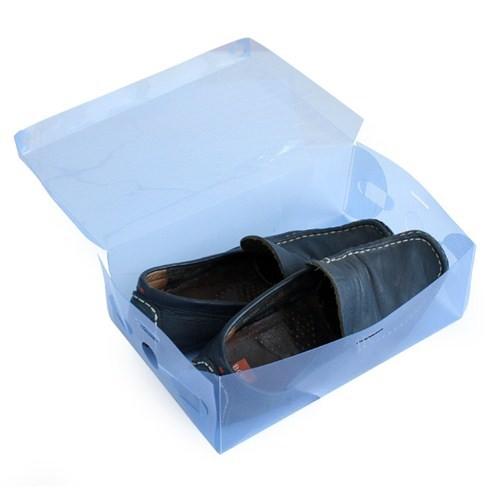 combo 10 hộp đựng giày dép trong suốt VRG008952