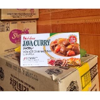 VIÊN NẤU CÀ RI NHẬT BẢN JAVA CURRY VỊ CAY VỪA (chính hãng House Foods)
