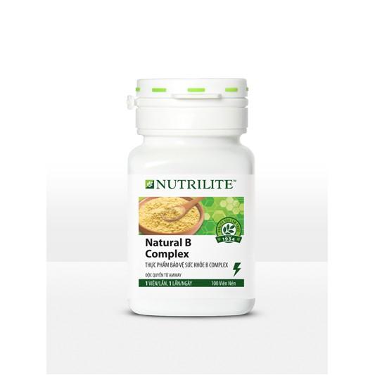 TP BVSK B Complex Nutrilite Amway, (Vitamin B Amway) (100 viên/lọ) - Dạng viên nén