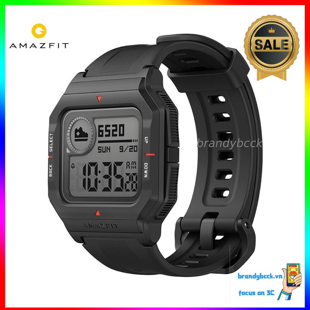 Đồng hồ thông minh Amazfit NEO nguyên bản, thiết kế cổ điển, không sạc trong 28 ngày, chống nước 50 mét Dây đeo tay Bluetooth chờ lâu 24 giờ dành cho trẻ em dành cho người lớn Chuỗi sinh thái x