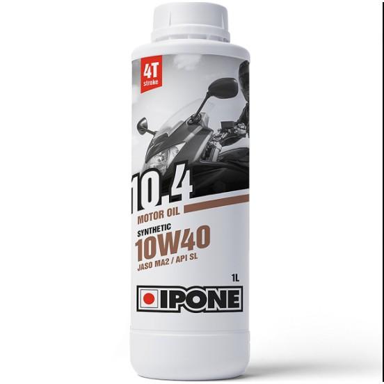 Nhớt IPONE 10.4 10W40- Nhớt xe số, xe côn tay cao cấp