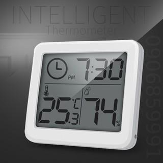 Đồng hồ để bàn,đồng hồ dán tường hiển thị độ ẩm và nhiệt độ (PD-WDJ-01)