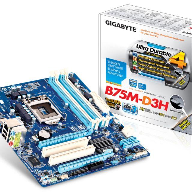 Combo main b75+ cpu i5 3570+ ram3 8gb Giá chỉ 350.000₫