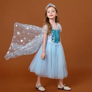 Đầm Elsa bé gái công chúa hàng xịn