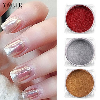 UV Gel Polish Nail Art Mirror Powder Shining Chrome Pigmentation