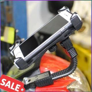 [An Toàn – Tiết Kiệm] Kẹp điện thoại gắn chân gương xe máy
