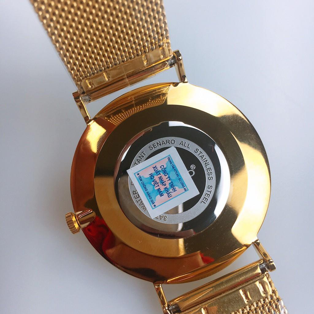 Đồng hồ nam SENARO Every Time Large 66017GBG thương hiệu Nhật Bản - LAMY WATCH