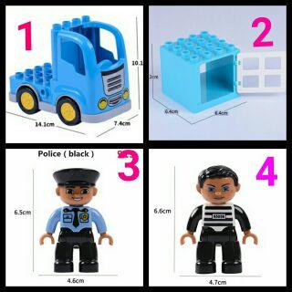 gorock - các chi tiết đặc biệt tương thích lego duplo thumbnail