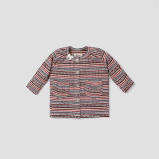 Áo khoác cardigan BAA BABY kẻ sọc nhiều màu cho bé gái - G-AK01D-006SO thumbnail