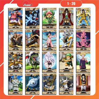Thẻ bài OnePiece World Project - AnimeX - Kích thước 8,7cm x 5,8cm thumbnail