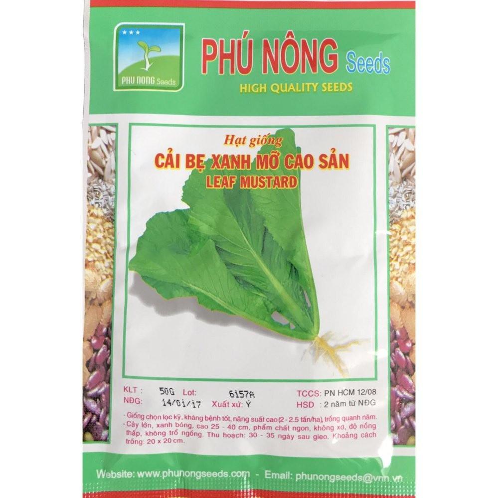 Hạt giống Cải bẹ xanh mỡ cao sản ITALIA - Gói 50g PN130151 - 3157777 , 1205496065 , 322_1205496065 , 15000 , Hat-giong-Cai-be-xanh-mo-cao-san-ITALIA-Goi-50g-PN130151-322_1205496065 , shopee.vn , Hạt giống Cải bẹ xanh mỡ cao sản ITALIA - Gói 50g PN130151