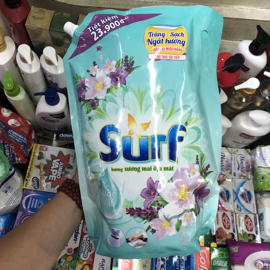 Nước Giặt Surf Hương Cỏ Hoa Diệu Kỳ 3.5Kg ( mẫu mới)