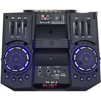 LOA KÉO DI ĐỘNG DJ K5 (TẶNG KÈM 2 MICRO CHỐNG NHIỄU KHÔNG DÂY XỊN)