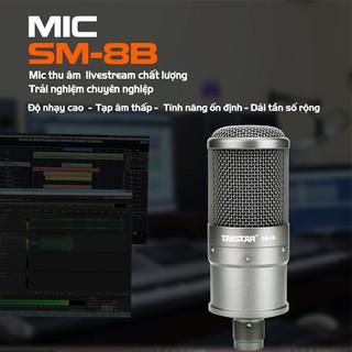 Mic thu âm TAKSTAR SM-8B, micro livestream, BẢO HÀNH CHÍNH HÃNG 12 THÁNG thumbnail