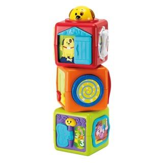 Bộ đồ chơi Tháp xếp chồng hình thú cho baby