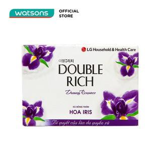 Xà Bông Double Rich Hương Hoa Iris 90g-0