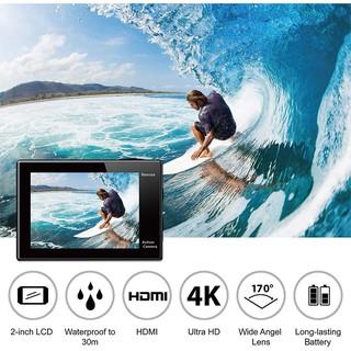 Camera hành trình 4k,Camera Hành Trình Eken H9R 4K Ultra HD Wifi - Hàng nhập khẩu thumbnail