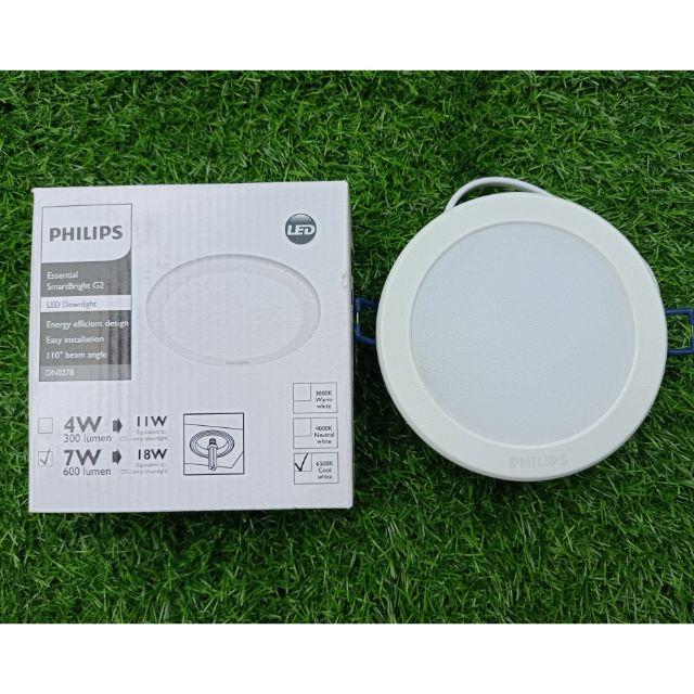 Đèn Led Âm Trần 7W Philips DN027B Hàng Chính Hãng