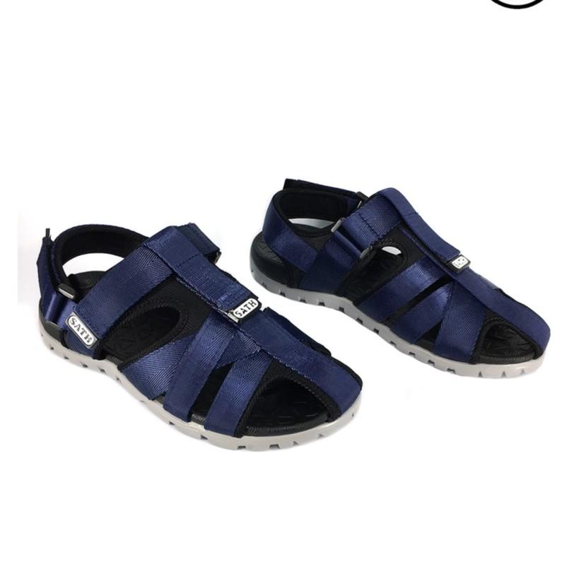 Giày sandal rọ thời trang xanh navi đế xám A388 - 10055537 , 846046116 , 322_846046116 , 269000 , Giay-sandal-ro-thoi-trang-xanh-navi-de-xam-A388-322_846046116 , shopee.vn , Giày sandal rọ thời trang xanh navi đế xám A388