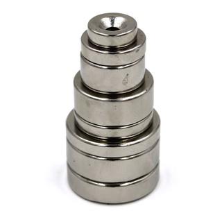 FREESHIP ĐƠN 99K_Nam châm hít tròn trơn size tự chọn (15mm, 20mm, 25mm, 30mm)