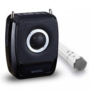 Máy trợ giảng không dây, có bluetooth Shidu SD-S92 (01 Micro cầm tay không dây và 01 micro gài tai có dây)
