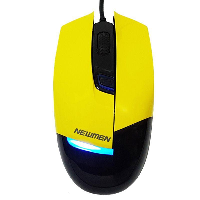 Chuột máy tính Game Newmen G10 Vàng